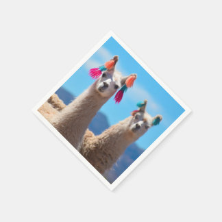 Lama-Servietten Serviette
