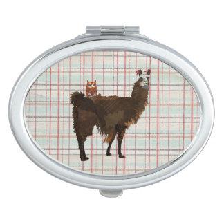 LAMA u. EULE kompakter Spiegel Schminkspiegel