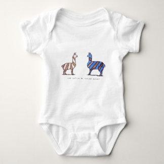 Lamakleid Baby Strampler