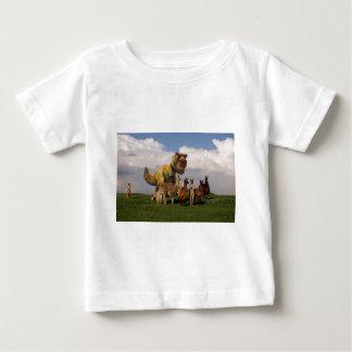 Lamas T Rex Baby T-shirt