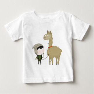 Lamawanderer Baby T-shirt