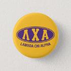 Lambda-Chi-Alpha | Vintag Runder Button 2,5 Cm