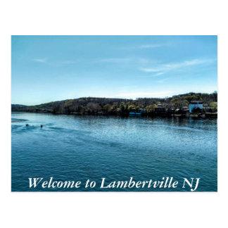 Lambertville Postkarte