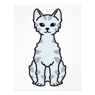 Lambkin zwergartiger Katzen-Cartoon Flyer