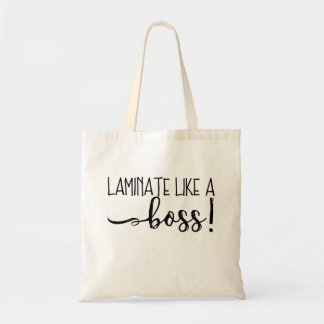Laminat wie eine Chef-Taschen-Tasche Budget Stoffbeutel