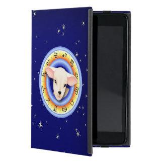 Lamm im Tierkreis-Rad Schutzhülle Fürs iPad Mini