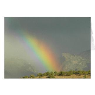 Lamoille Schlucht-Regenbogen Karte