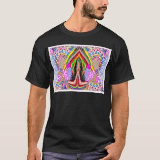Lampen-Hände zusammen verbunden: Nameste T-Shirt