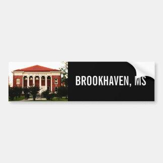 Lampton Auditorium Brookhaven, Mississippi Autoaufkleber