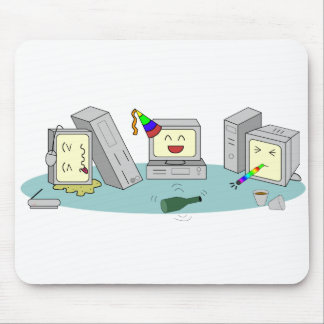 Lan-Party-Computer-Spiel Geeky Mousepad