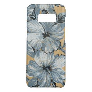 Lanai hawaiisches Hibiskus-Imitat-hölzernes Case-Mate Samsung Galaxy S8 Hülle