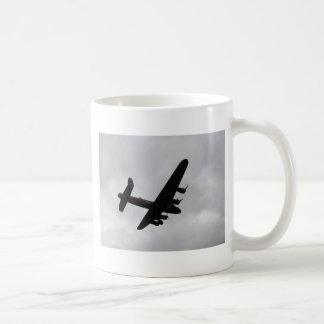 Lancaster-Bomber obenliegend Kaffeetasse