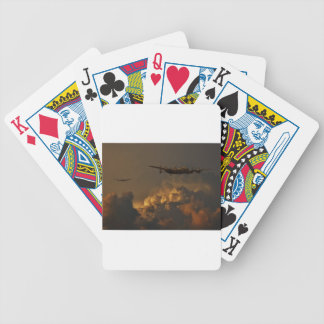 Lancaster-Bomber STURM Bicycle Spielkarten