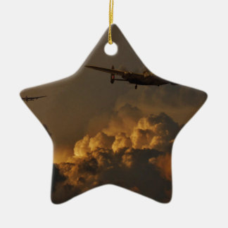 Lancaster-Bomber STURM Keramik Ornament
