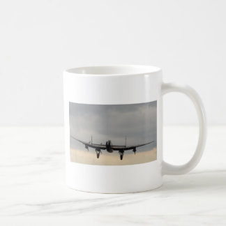 Lancaster-Bomber von hinten Kaffeetasse