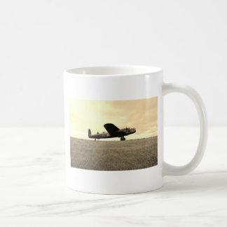 Lancaster-Bombersepia-Ton Kaffeetasse