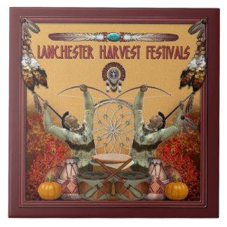Lanchester Erntefestivals und PowWow Fliese