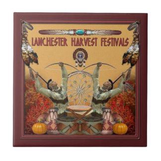 Lanchester Erntefestivals und PowWow Keramikfliese