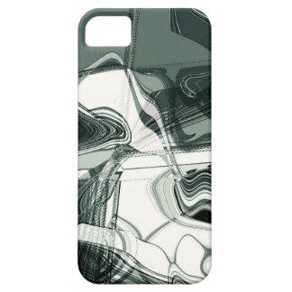 Land-Bildungs-abstrakte Kunst iPhone 5 Schutzhülle