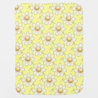 Land-Blumen-Gelb Unisex Kinderwagendecke