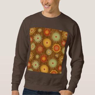 Land-Blumenmuster Sweatshirt