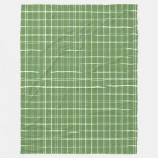 Land cm-Grün Fleecedecke