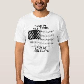 LAND DER HABSUCHT, ZUHAUSE DES SKLAVEN - Punkrawk T-Shirts