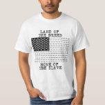 LAND DER HABSUCHT, ZUHAUSE DES SKLAVEN - Punkrawk T Shirts