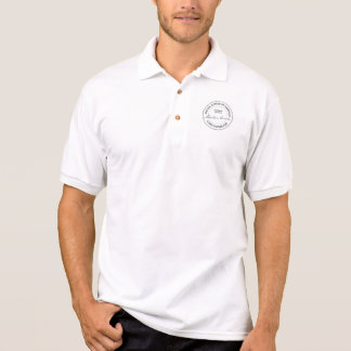 Land-Feldmesser-Siegel Abraham Lincoln US Polo Shirt