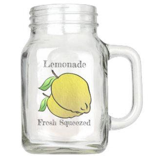 Land-frische zusammengedrückte Limonade Einmachglas