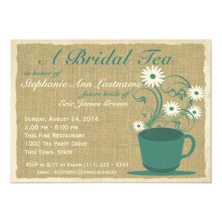 Land-Garten-Tee-Party 12,7 X 17,8 Cm Einladungskarte
