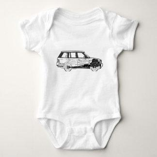Land-Geländewagen-Auto-klassische Vintage Babybody