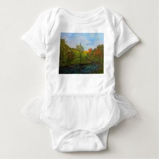 Land-Herbst Baby Strampler