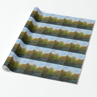 Land-Herbst Geschenkpapier