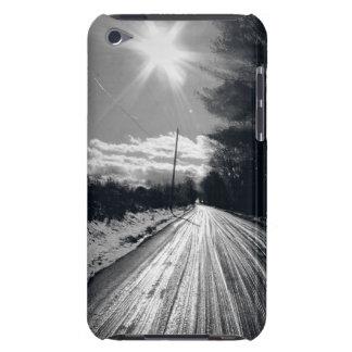 Land-hintere Straße iPod Case-Mate Hüllen