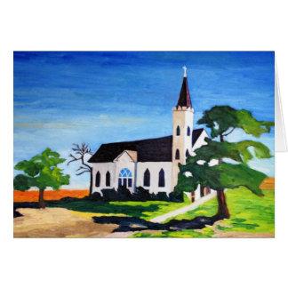 Land-Kirche, Richland, Texas Karte