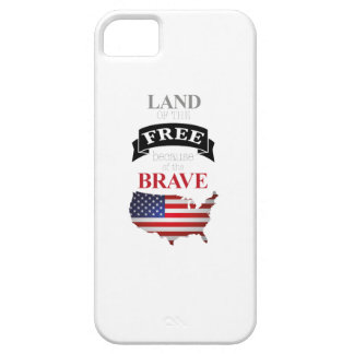Land of the free because of the brave iPhone 5 hülle