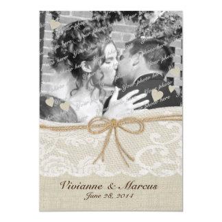Land Romance Save the Date 12,7 X 17,8 Cm Einladungskarte