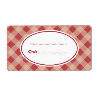 Land-rote Küchen-Backen-Geschenk-Umbau-Aufkleber