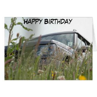 Land Rover Karte