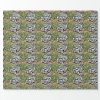 Land Rover-Reihe III 109 Geschenkpapier
