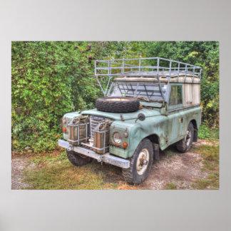 Land Rover-Reihe III 109 Poster