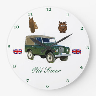 Land Rover-Wanduhr Große Wanduhr