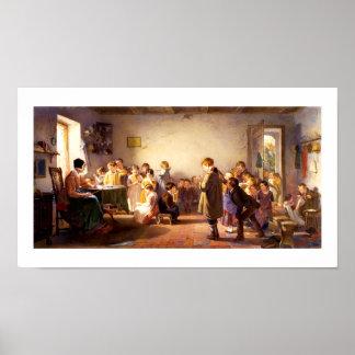 """Land-Schule"" durch Winslow Homer. Kunst-Druck Poster"