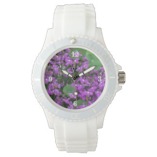 Land-Sommer-Blüte Uhr