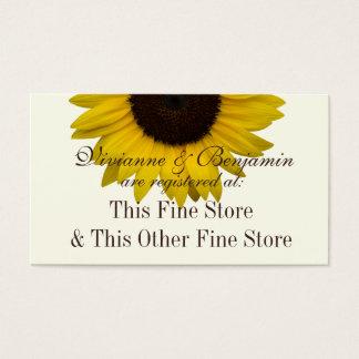 Land-Sonnenblume-Geschenkladen-Info Visitenkarte