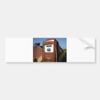 Land-Straßen-Tankstelle Autoaufkleber