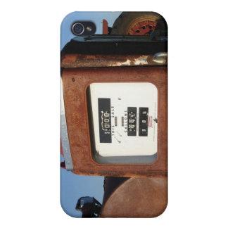 Land-Straßen-Tankstelle iPhone 4 Hülle