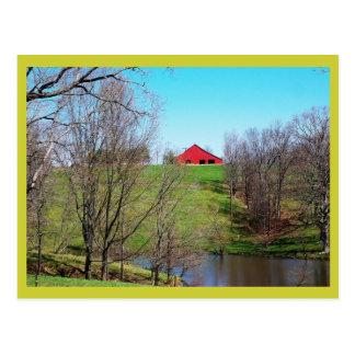 Land-Szenen-Postkarte Postkarte