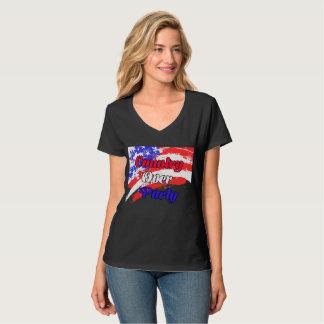 Land über Party T-Shirt